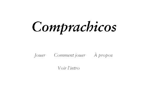 Comprachicos - Utopiales Game Jam