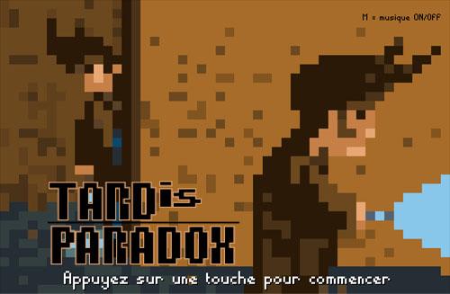 Tard is Paradox - Utopiales Game Jam